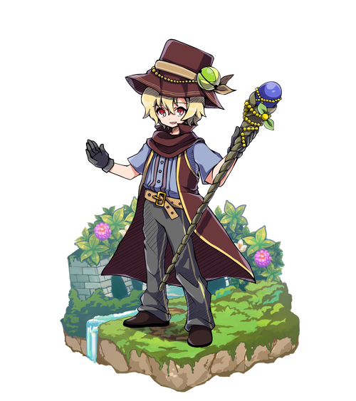 光浴の魔術師ルーカス