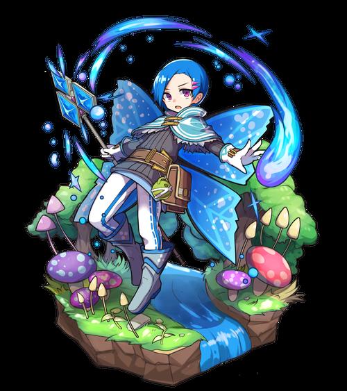 怜杖の蒼妖精マルクス