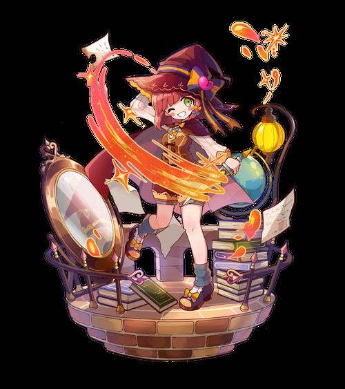 焔刃の魔女シャルロット