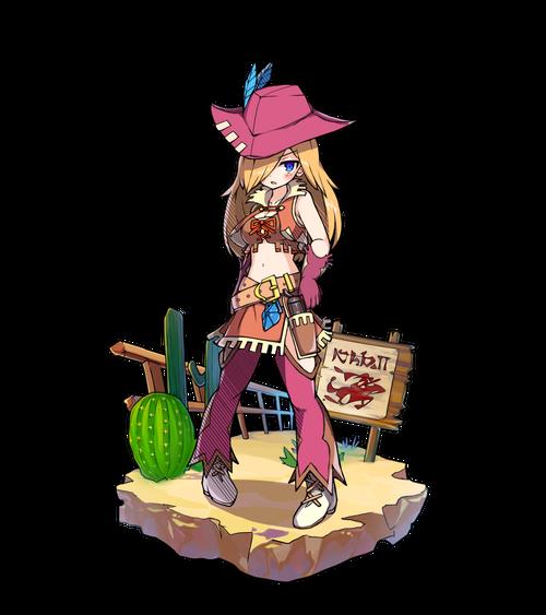 準帽の銃士キュリー
