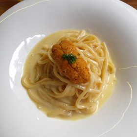 [예약제 매장] Sea Urchin, 부드러운 크림베이스와 성게알이 조화를 이룬 파스타 [일반회원]