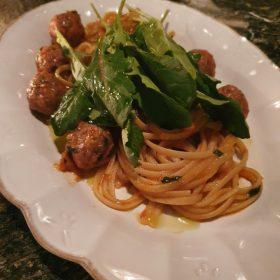 [예약제 매장] Salsiccia[Large size], 시칠리아 페스토를 곁들인 토마토 파스타 [일반회원]