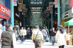 吉祥寺のサンロード商店街