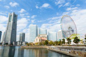 横浜のシンボルとなるランドマークタワー等