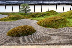 東福寺の枯山水庭園