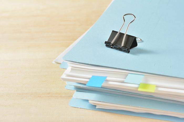 書類整理は快適な仕事環境づくりに必要!上手に進めるポイント