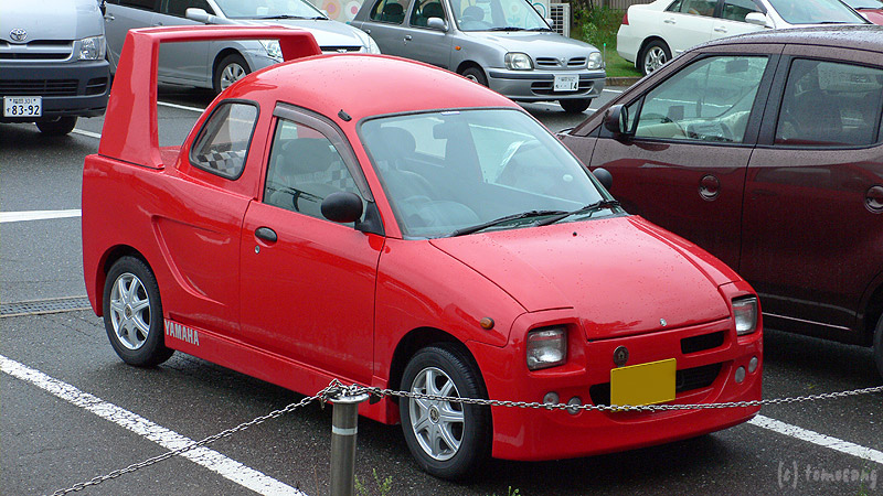 【画像あり】ヤマハさん、軽自動車のオープンカーを発表!