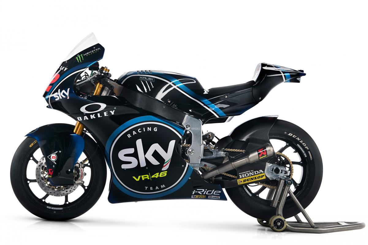 SKY Racing Team VR46 Moto2マシン