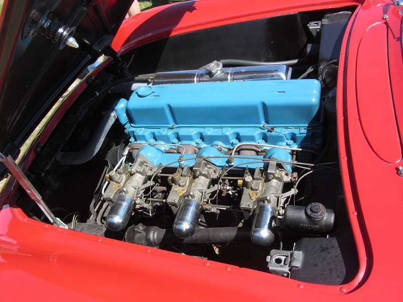 Chevrolet C1 Corvette Engine