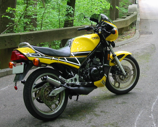 1985 ヤマハRZ350