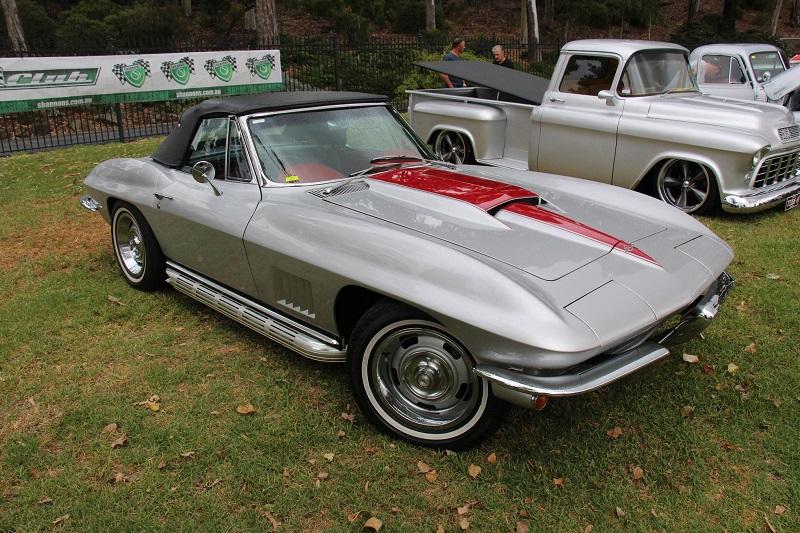 1967年シボレー・コルベット・C2・スティンググレイ・コンバーチブル
