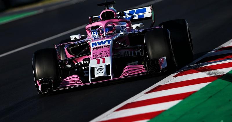 2018 F1 フォースインディア