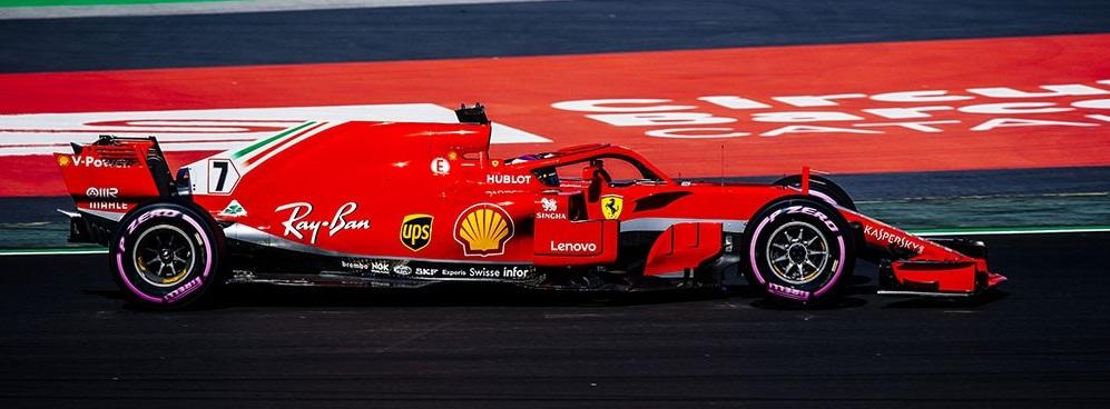2018 F1 フェラーリ