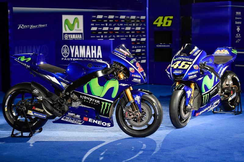 2017 MotoGP ヤマハ YZR-M1
