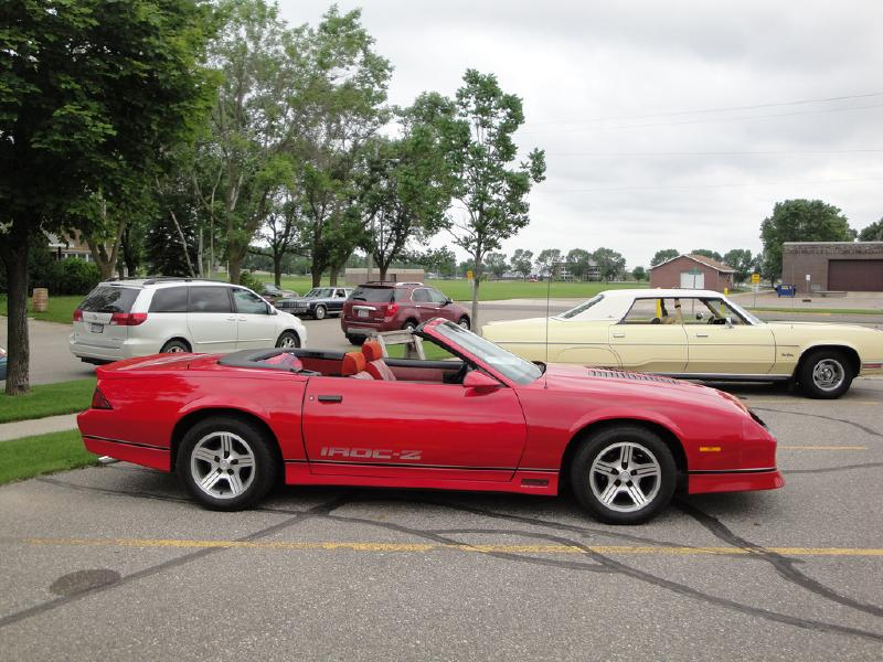 Chevrolet Camaro IROC-Z コンバーチブル