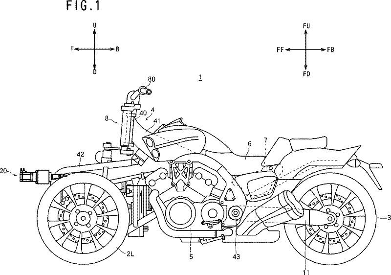 ヤマハ 傾斜車両 特許 次期VMAX?