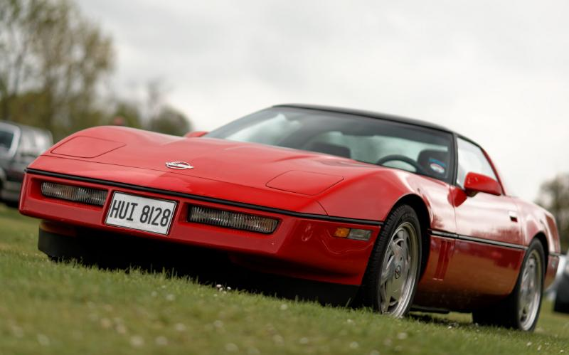 1988 Chevrolet C4 Corvette 35th anniversary