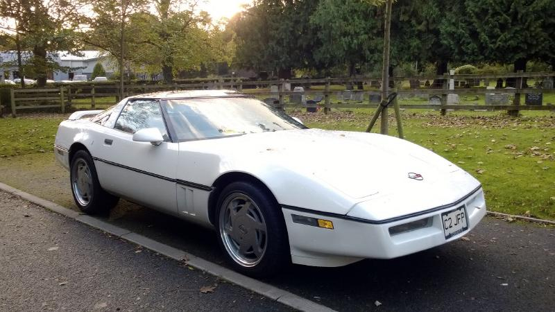 1988年Chevrolet Corvette C4 coupe