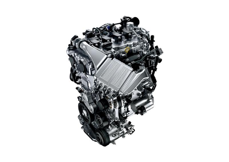 8NR-FTS直噴ターボエンジン