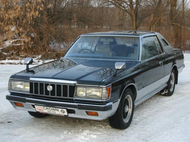 1981年モデル 6代目クラウン 2ドアハードトップ