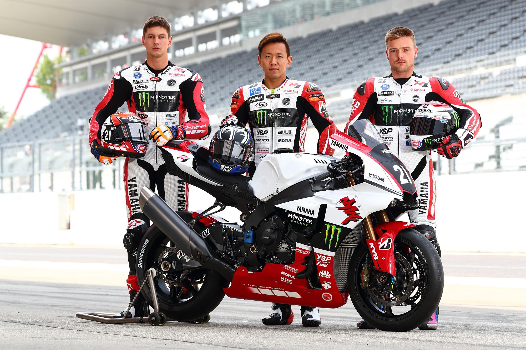 2018鈴鹿8耐ヤマハファクトリーチーム
