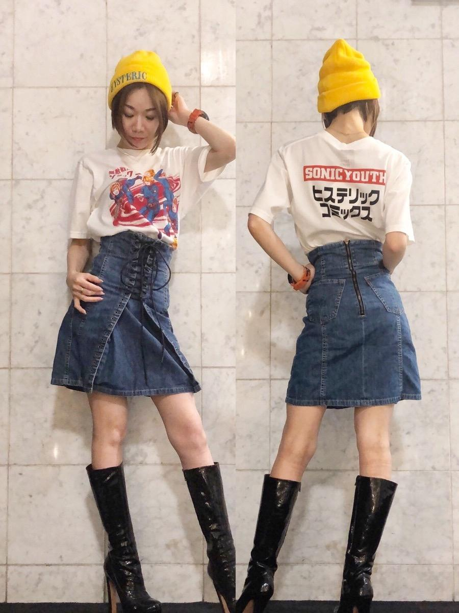SONIC YOUTH復刻ツアーTシャツ