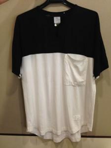 2和田Name.のバイカラーTシャツ
