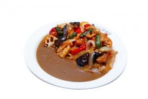 resize_たっぷり野菜とチキンの黒酢あんかけカレー
