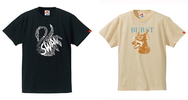 「SWAN-TEE」&「BURST-TEE」