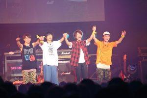 """DISH//が初となるバンドパフォーマンスの""""皿vsスラ""""を開催!メンバー作詞の新曲も披露"""