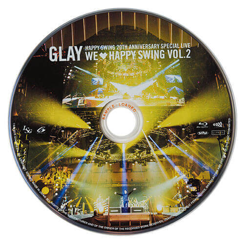 <Blu-ray>-HAPPY SWING限定-HAPPY SWING 20th Anniversary SPECIAL LIVE~We♡Happy Swing~ Vol.2<SPECIAL BOX>