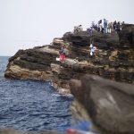 神奈川県最大の自然島、三浦半島の南端にある城ヶ島で釣りをしました。釣果は鳩?