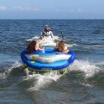 三浦海岸で迫力満点のバナナボートに乗ろう!!