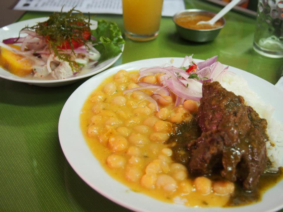 ペルーのセビチェ