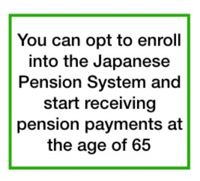 Pensions and health insurance in japan