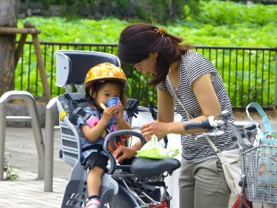 women and childcare Japan