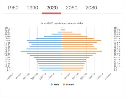 日本 平均年齢