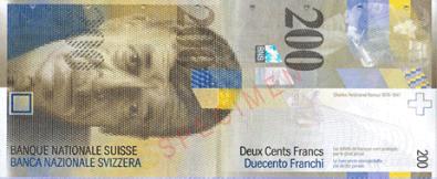 スイス・フラン Swiss Franc