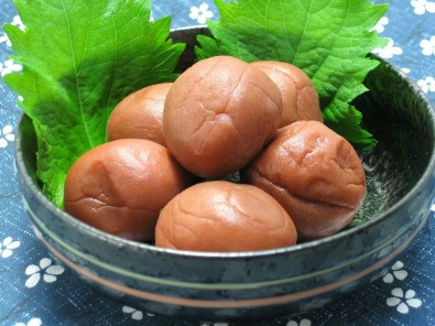 Umeboshi good for Kafunsho