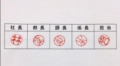 inkan hanko Japanese seal