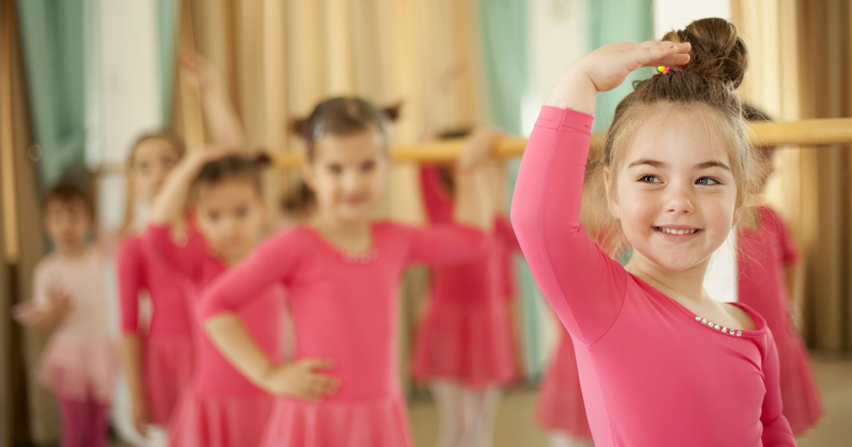 子どもが確実に変わる! 強い心と自己アピール力を育むバレエの効果