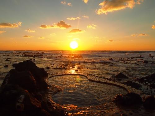 黄金崎 不老ふ死温泉◆近畿日本ツーリスト