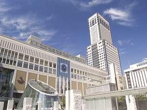 【バリューステイ】お手軽素泊まり/ビジネスプラン♪JR札幌駅南口に直結で抜群のアクセス!北海道最高層のランドマークホテル☆札幌一の眺望が楽しめます♪