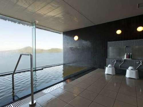 洞爺湖の絶景を貸し切る〜天空貸切風呂プラン(夕食:ブッフェ)