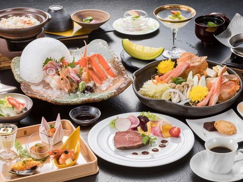 【アップグレート◆創作和食】厳選された旬の豪華食材を贅沢に使用した、特別創作和食プラン