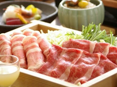 『山形牛』と『米澤豚』しゃぶしゃぶ♪自慢の素材が奏でる美味しさのハーモニー