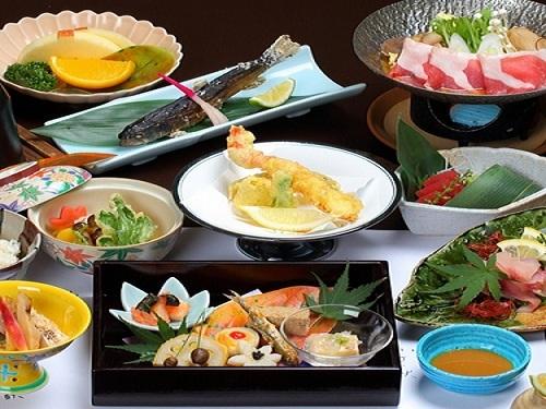 お客様リクエスト・ナンバー1☆健康志向で量より質の『長生会席』料理をどうぞ![1泊2食]