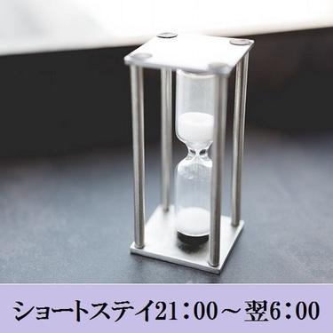 【ショートステイ】チェックイン21:00〜、チェックアウト〜翌6:00でお得♪<素泊まり>