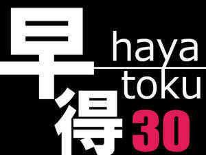 【素泊まり】早得30◆早めの予約でお得♪☆ディズニー(舞浜駅)もアクセス◎
