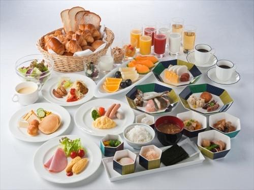 ★朝食ビュッフェ(一例)バラエティに富んだメニューをご用意♪